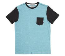 All Day Contrast Crew - T-Shirt für Herren - Blau