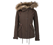 Zarah - Mantel für Damen - Braun