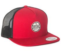 Bluff Flat - Trucker Cap für Herren - Rot