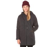 Bulky - Mantel für Damen - Schwarz