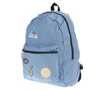 Rollin - Rucksack für Damen - Blau