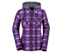 Circle Flannel - Funktionsjacke für Damen - Karo