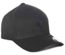 Tepan Curve Peak - Flexfit Cap für Herren - Schwarz