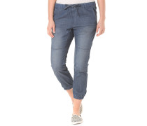 Lazy Bone Jogger - Jeans für Damen - Blau