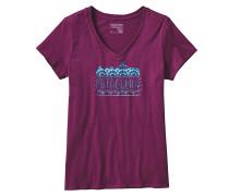 Femme Fitz Roy V-Neck - T-Shirt für Damen - Lila