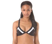 Colorblock Mirage Triangle - Bikini Oberteil für Damen - Schwarz