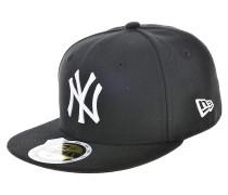 59 Fifty MLB League Basic New York YankeesFitted Cap Schwarz