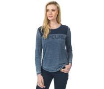 Delano - Langarmshirt für Damen - Blau