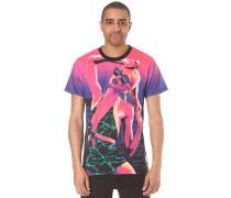 Neon Horizons - T-Shirt für Herren - Lila