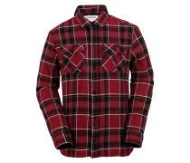 Shandy Flannel - Hemd für Herren - Rot