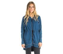 Leiza - Kapuzenjacke für Damen - Blau