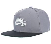Pro Snapback Cap - Grau