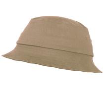 Cotton Twill Bucket Cap Beige