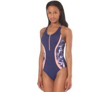 Kir Zipped - Badeanzug für Damen - Blau
