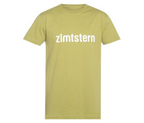 Zimtstern Logotype - T-Shirt für Herren - Gelb