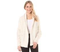 Icy Sands - Strickjacke für Damen - Weiß