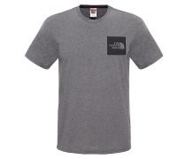 Fine - T-Shirt für Herren - Grau