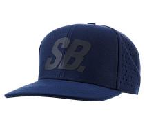 Black Reflect Perfurated Pro Cap - Blau