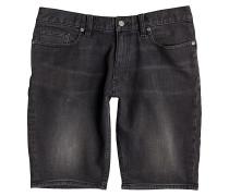 Washed Straight - Shorts für Herren - Grau