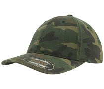 Garment Washed Camo Cap Camouflage