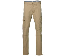 Tapered - Stoffhose - Beige