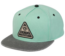 X Wash Snapback Cap - Grün