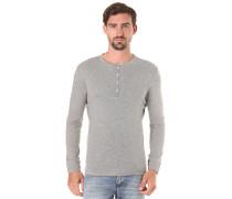 Iconic Henley - Langarmshirt für Herren - Grau