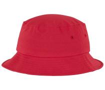 Cotton Twill Bucket Hut - Rot