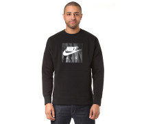 Crew Air Fleece - Sweatshirt - Schwarz