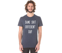 Tee Print - T-Shirt für Herren - Blau