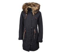 Tamarah - Mantel für Damen - Schwarz