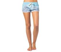 Sun And Surf - Shorts für Damen - Blau