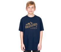 Ripple T-Shirt - Blau