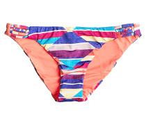 Braided 70's - Bikini Hose für Damen - Mehrfarbig