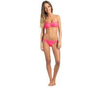 Snake Bandeau Set - Bikini Set für Damen - Pink