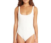 Line Up - Badeanzug für Damen - Weiß