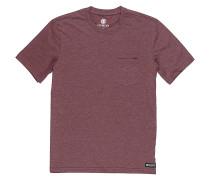 Basic Pocket - T-Shirt - Rot