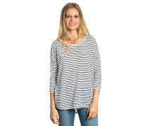 Ellie Stripe 3/4 - Langarmshirt für Damen - Blau
