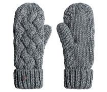 Love Snow Mitten - Handschuhe für Damen - Grau