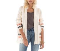 In Stitches - Strickjacke für Damen - Weiß