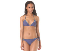 Corslet - Bikini Set für Damen - Blau