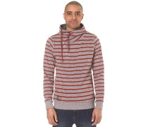 Hooker Stripes Organic - Sweatshirt für Herren - Rot