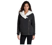Cocoon Sherpa - Kapuzenjacke für Damen - Schwarz