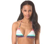 Triangle Road Trippin - Bikini Oberteil für Damen - Mehrfarbig