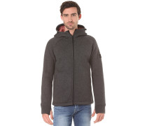 Hooded Zip - Kapuzenjacke für Herren - Grau