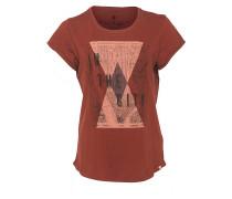 Manhattan Map - T-Shirt für Damen - Rot