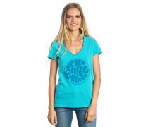 Active Wetsuit Logo - T-Shirt für Damen - Blau