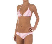 Isy Triangel - Bikini Set für Damen - Pink