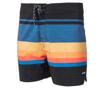 "Retro Sector 16"" - Boardshorts - Schwarz"