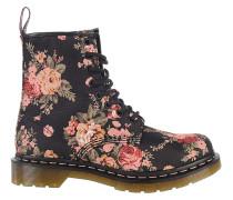 1460 Victorian Flowers - Stiefel für Damen - Schwarz
